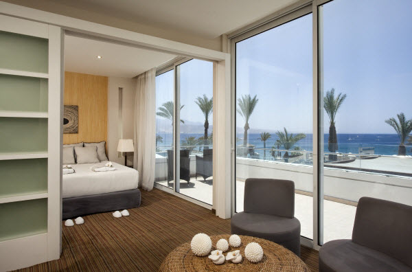 Suite with a sea view